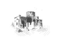 Old Church in Armenia Talin Cathedral