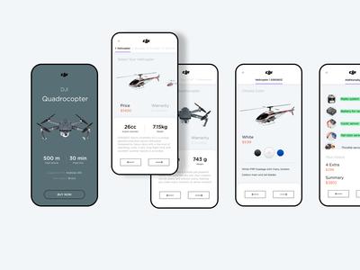 Mobile Design | Dji 02