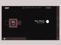 Site for the author of music
