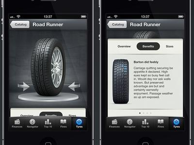 autofinance tyres catalog