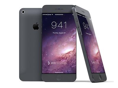 iPhone mockup 3d art phone