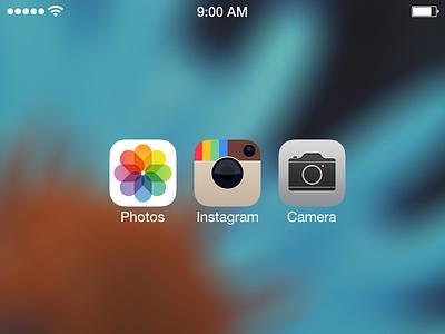 instagram icon ios7 homescreen application app ios