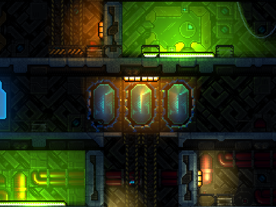 screenshot of a big room gamedev indiedev pixelart pixel gaming