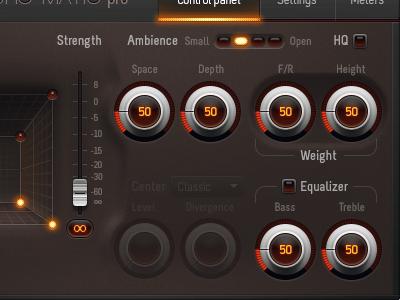 audio processing plug-in UI