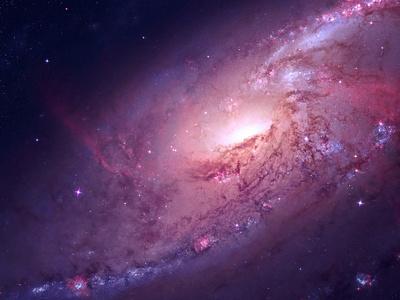 M106 galaxy wallpaper mac osx ipad mini dark purple red space stars spiral