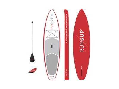 2016 RS-F Model surf fin board red standup paddle paddleboard
