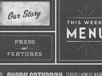 Hale & Hearty Web Typography