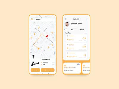 First portfolio WDI design figma design app design mobile ui