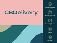CBDelivery Branding iconset logo identity branding cbd