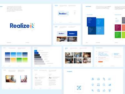 Realizeit Style Guide style guide brand book brand guidelines