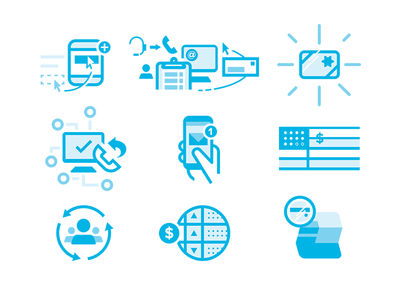 WIP Business Icons