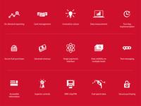 Transportation/Payment Icon Set