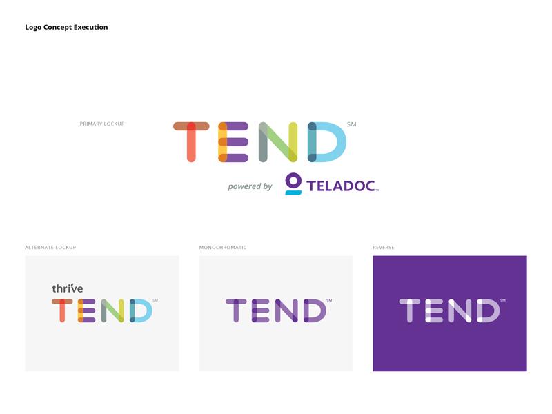 Telemedicine Branding Concept identity health care tend logo branding telemedicine