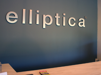 Elliptica lobby signage