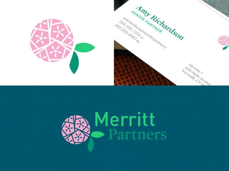 Mountain Laurel firm investing finance merritt mountain laurel logo flower