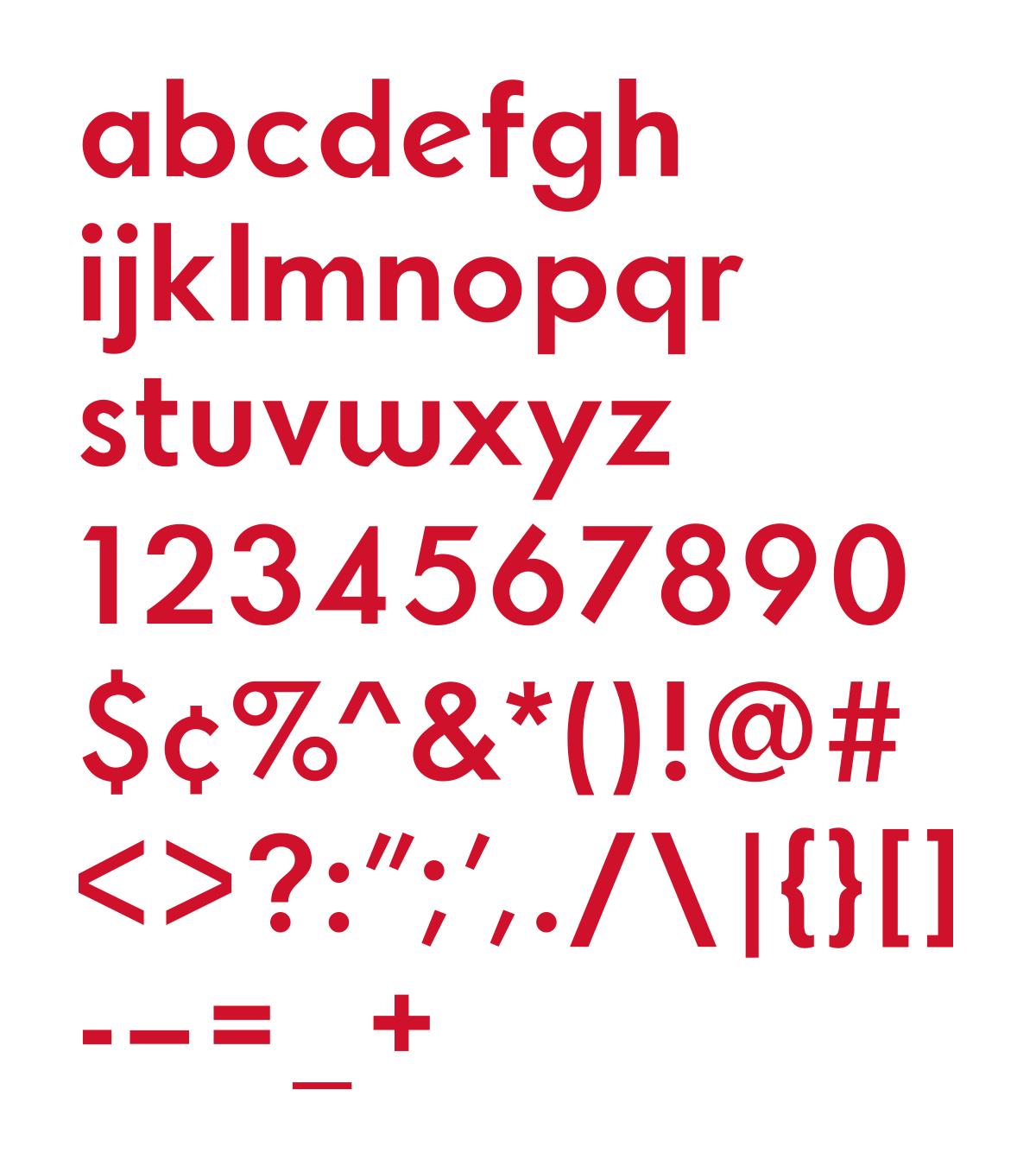Typeface allcharacters lrg