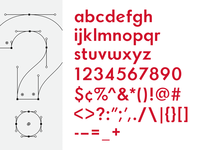 Typeface; All Characters