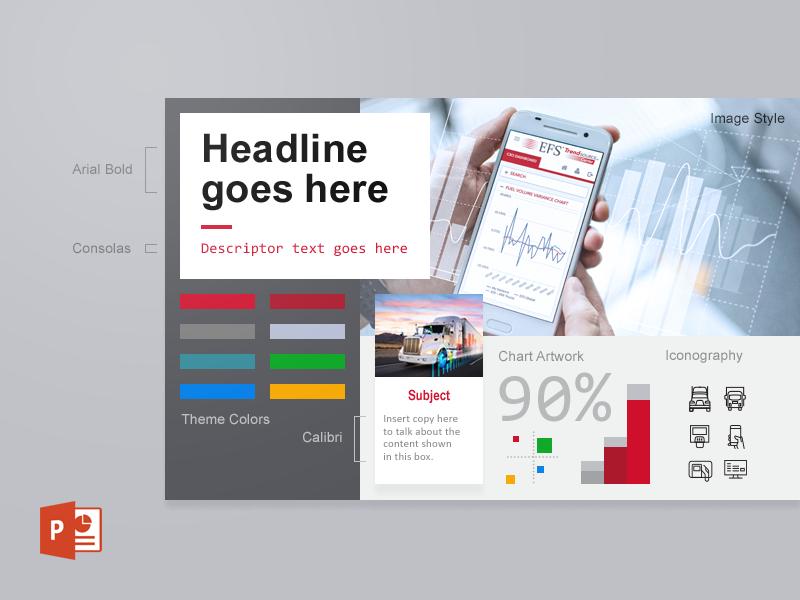 Theme branding style guide theme presentation powerpoint