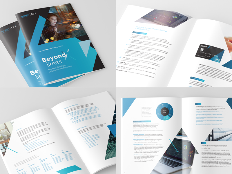 Corporate/Product Overview tech payments booklet corporate overview brochure