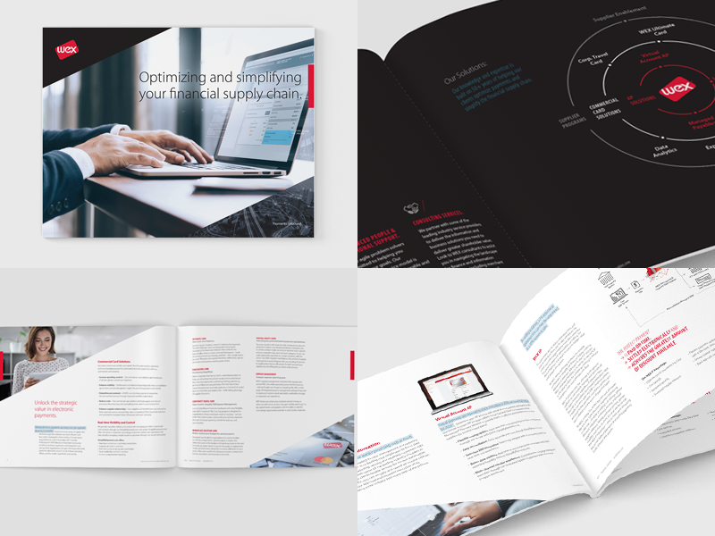 Capabilities Brochure tech payments booklet corporate overview brochure