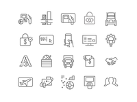 Fleet/Payment Icons