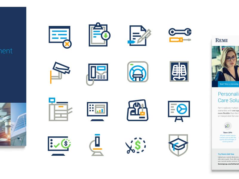 Tech/Service Icons fix service tech custom icon library icon design icons
