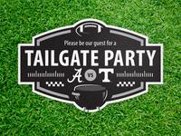 Tailgate Invite