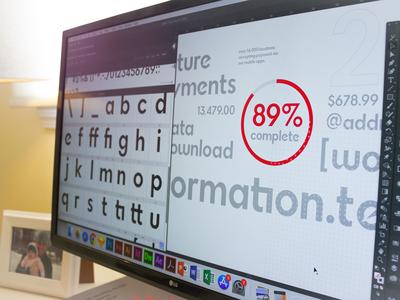 #development learning development custom font typography goals type