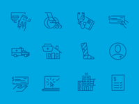 Health Insurance Icons