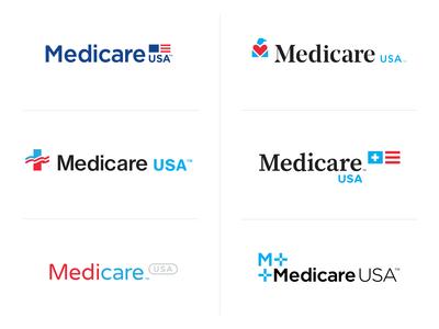 Identity Exploration insurance options exploration branding health plans logos medicare healthcare