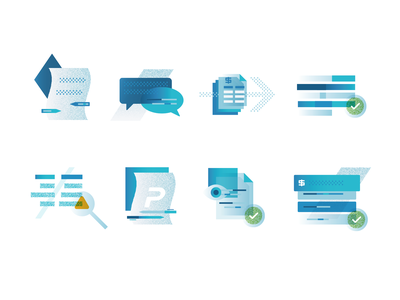 Onboarding Process Icons icons process onboarding