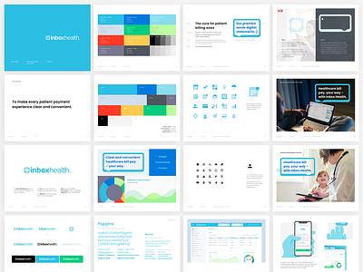 Inbox Health Style Guide brand identity branding styleguide health inbox