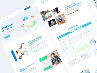 Inbox Health Website tech healthcare health inbox web design website