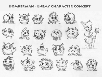 Character Concept Drawing