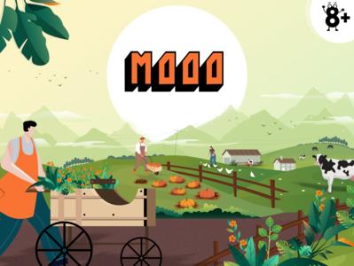 Moo game packaging