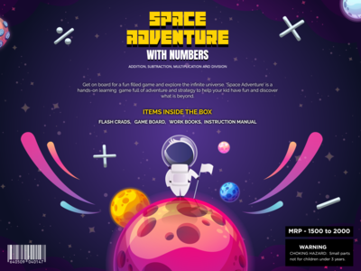 Space Game Packaging Design