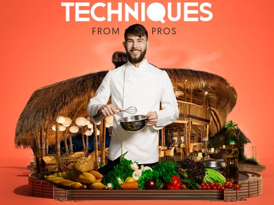 Cooking Techniques from pros!
