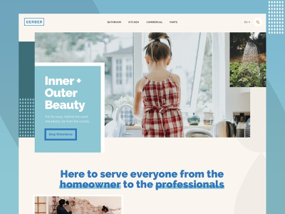 Simple Homepage Layout homepage design layer simple clean