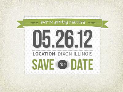 save the date by derek lauritzen dribbble dribbble