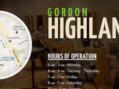 Gordon salon