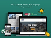 PTC Group web design & development