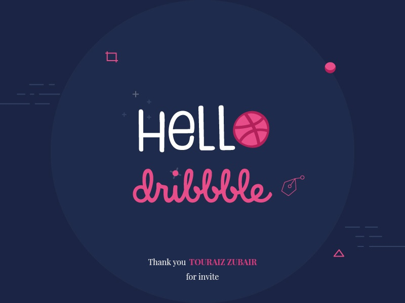 Dribbble Shot illustrator vector logo ui app web ux icon branding design illustration