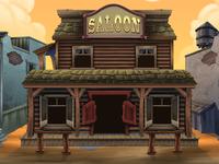 Western Saloon Background