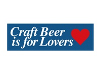 Craft Beer is for Lovers.