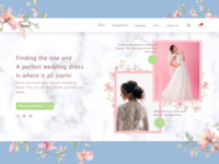 Wedding dress Web UI