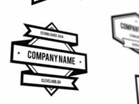 Shapes and Ribbons Logo