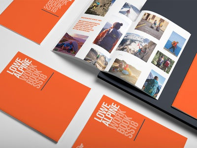 Lowe Alpine SS18 Workbook