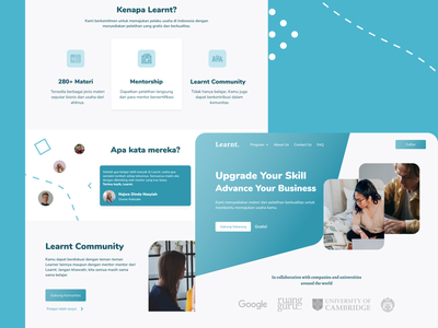 Business Course - Landing Page business landing page landing page design landing page enterprise business ux online course free course web design