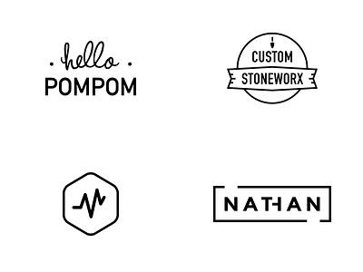 Logos branding design logotype logo
