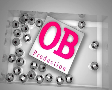 OB Production Intro Logo channel ident graphics 3d title filler opener ident animation motion graphics after effect cinema 4d